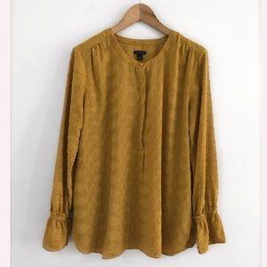 Ann Taylor Top Blouse Shirt Size M